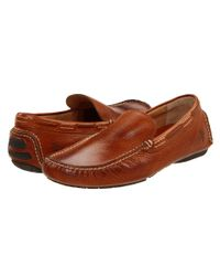 Frye Brown West Driver for men