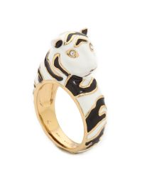 kate spade new york Multicolor Lucky Streak Tiger Ring - Multi