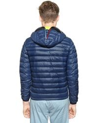 Ai Riders On The Storm | Blue Total Zip Up Light Weight Down Jacket for Men | Lyst