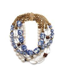 Lizzie Fortunato | Blue Look 20 Choker | Lyst