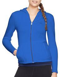 Lauren by Ralph Lauren Blue Malisee Fitted Jacket