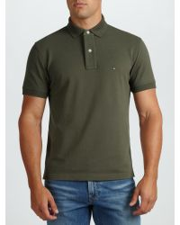 Tommy Hilfiger Green New Tommy Polo Shirt for men
