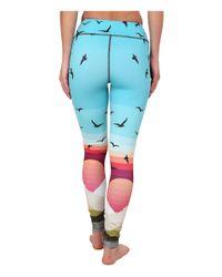 Mara Hoffman | Blue Long Leggings | Lyst