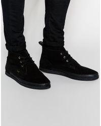 Farah | Black Vintage Desert Shoes for Men | Lyst