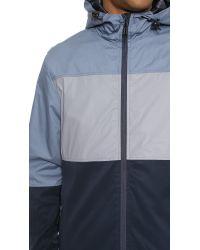 2 X H Brothers Blue Mikkel Jacket for men