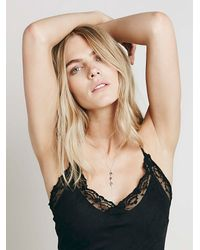Free People | Metallic Mantra Drop Lariat | Lyst