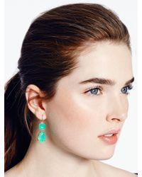 kate spade new york - Blue Vegas Jewels Drop Earrings - Lyst
