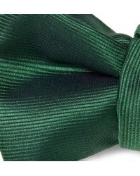 Charvet | Green Woven-Silk Bow Tie for Men | Lyst