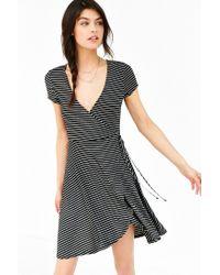 Kimchi Blue | Black Ballet Surplice Dress | Lyst