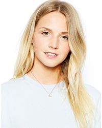 Dogeared | Metallic Begin Gold Plated Birdy Make A Wish Necklace | Lyst