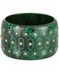 Mark Davis | Green Bakelite Bangle | Lyst