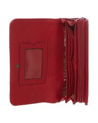 Ollie & Nic Josh Red Large Flap Over Purse