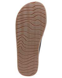 Reef Black Zen Lux Sandals for men