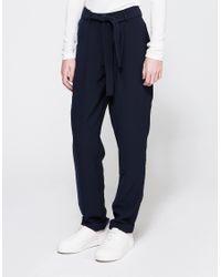 Just Female - Blue Eli Pants - Lyst