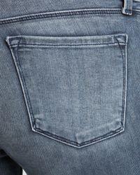 J Brand Blue Jeans - Photo Ready Kamila Zip Back Skinny In Crush