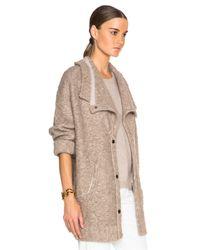 INHABIT | Natural Bohemian Coat | Lyst