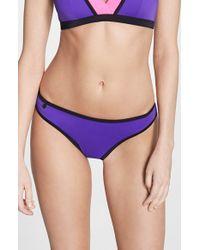 Freya - Purple 'bondi' Bikini Bottoms - Lyst