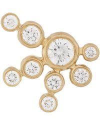 Sophie Bille Brahe - Metallic Diamond & Gold Flacon De Neige Stud - Lyst