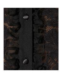 Dolce & Gabbana - Black Silk Blouse - Lyst