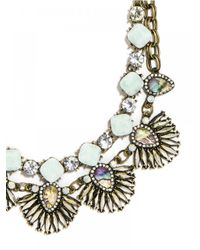 BaubleBar | Blue Sea Glass Anemone Bib | Lyst