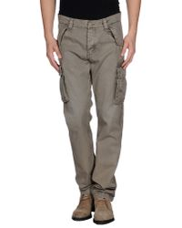 Woolrich - Gray Casual Trouser for Men - Lyst