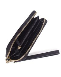 MICHAEL Michael Kors   Black Jet Set Smartphone Wallet   Lyst
