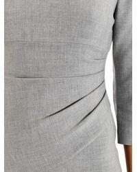 Diane von Furstenberg - Gray Bevin Shift Dress - Lyst