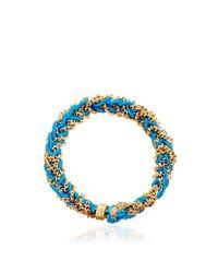 Carolina Bucci - Blue Woven Ring - Lyst