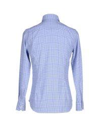 Etro   Blue Shirt for Men   Lyst