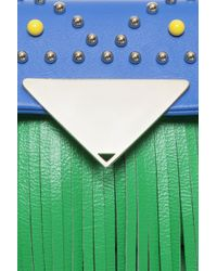 Sara Battaglia - Green Small Cutie Bag - Lyst