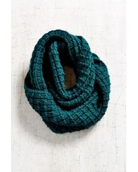 Urban Outfitters Blue Boyfriend Knit Eternity Scarf