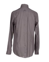 Paolo Pecora - Brown Shirt for Men - Lyst