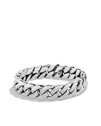 David Yurman | Metallic Curb Chain Bracelet for Men | Lyst