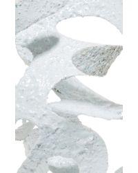 Rosie Assoulin - Roxanne Assoulin For Plaster White Large Sculptural Earrings - Lyst