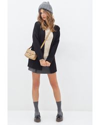 Forever 21 | Brown Crew Neck Sweater | Lyst