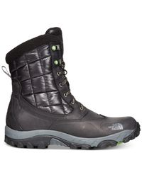 The North Face Black Men's Waterproof Thermoball Utility Boots for men