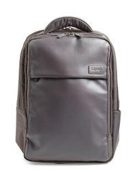 Lipault Black Computer Backpack for men