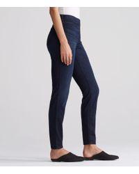 Eileen Fisher | Blue Organic Cotton Soft Stretch Denim Legging Jean | Lyst