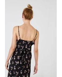 Opening Ceremony - Black Floral Printed Dress - Lyst