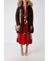 Moncler Multicolor Evanthia Coat