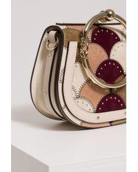Chloé - White Small Nile Bracelet Bag - Lyst