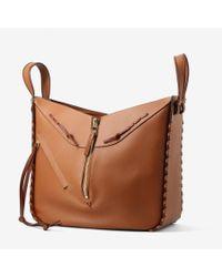 Loewe | Brown Hammock Laced Tan Bag | Lyst