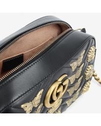 Gucci Black Marmont Animals Bag