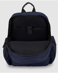 Jo & Mr. Joe - Mens Navy Blue Backpack With Zip for Men - Lyst