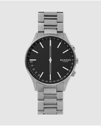 Skagen Gray Holst Skt1305 Titanium Grey Hybrid Smartwatch for men