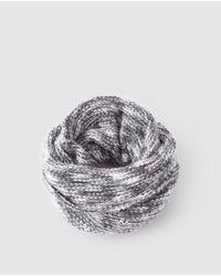 El Corte Inglés Gray Grey Knitted Cowl