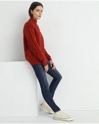 Pantalon Vaquero De Mujer Skinny Con Bolsillos Gap de color Red