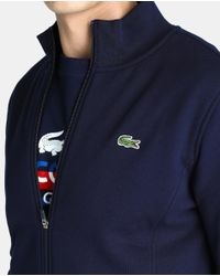 Lacoste - Blue Sports Jacket With Zip for Men - Lyst