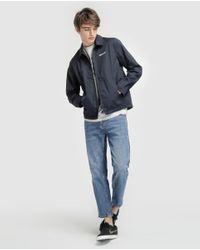 GREEN COAST Navy Blue Jacket for men