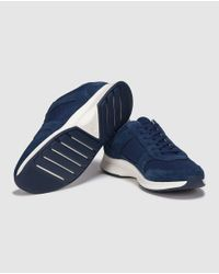 Lacoste | Blue Lace-up Sneakers for Men | Lyst
